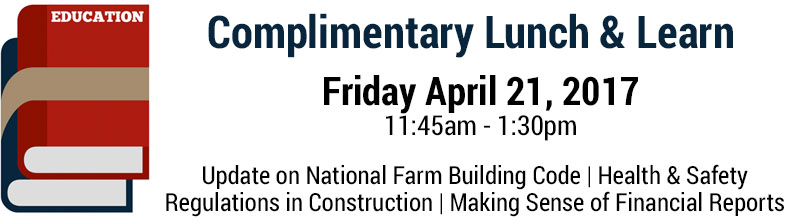 Canadian Farm Builders Association Lunch and Learn
