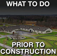 What to do before a barn or farm construction project