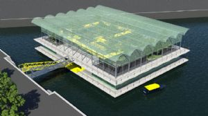 The World's First Floating Urban Dairy Farm Will Be Built In Rotterdam