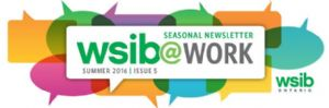 WSIB Newsletter - Summer 2016