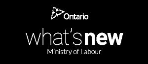 Ministry of Labour - What's New - January 2017